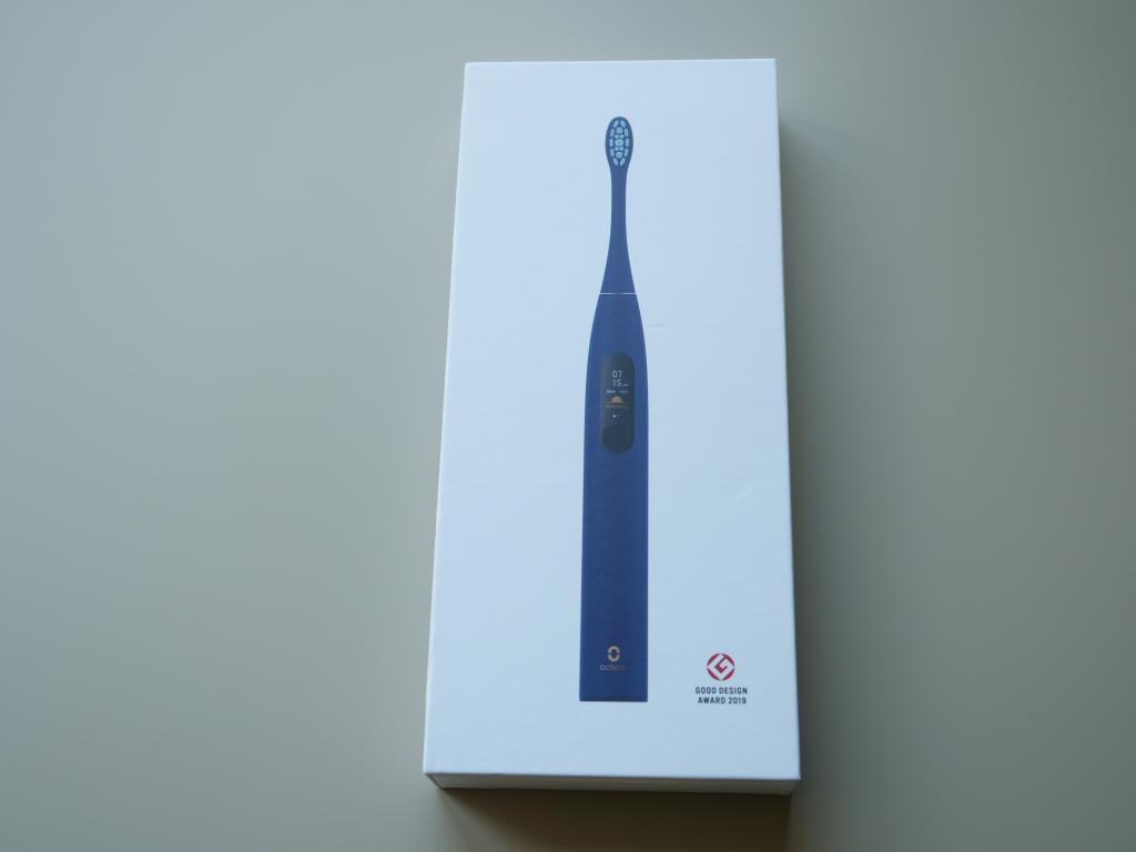 Oclean X PRO - recenzja nowej wersji inteligentnej szczoteczki sonicznej - pudełko