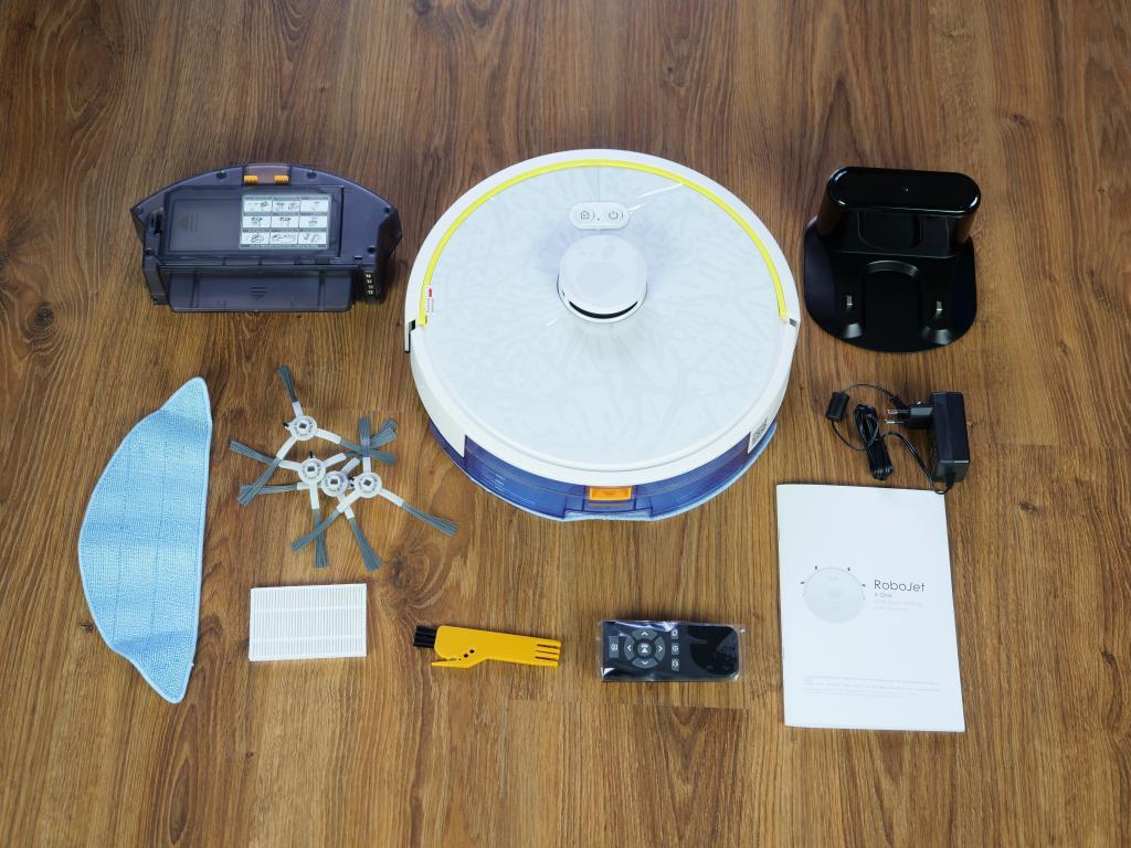 RoboJet X-One White - recenzja robota sprzątającego - unboxing