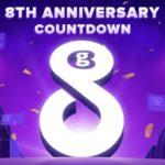 Wyprzedaż z okazji 8. rocznicy Geekbuying - kupony warte $188