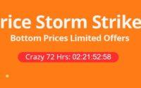 Finał wakacyjnej wyprzedaży banggood.com - price storm strikes