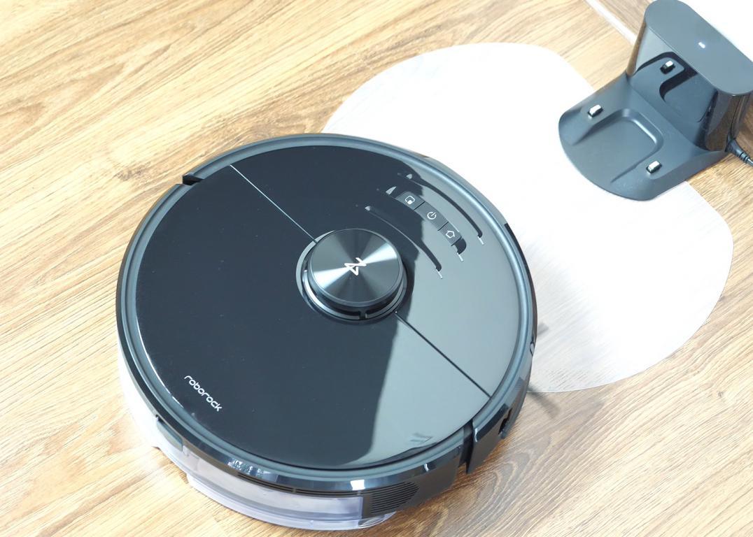 Roborock S6 MaxV - recenzja robota sprzątającego - podkładka do mopa