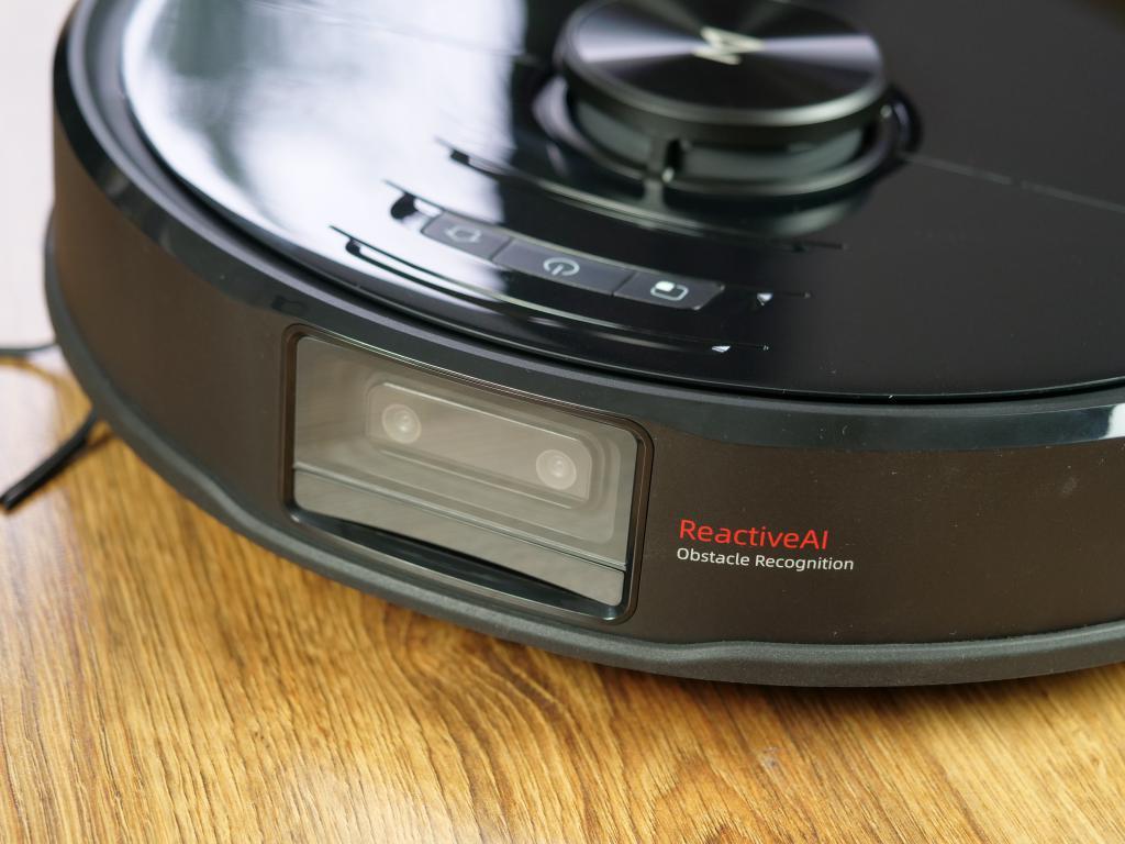 Roborock S6 maxV - recenzja robota sprzątającego z inteligentnym rozpoznawaniem przeszkód - kamera do rozpoznawania przeszkód
