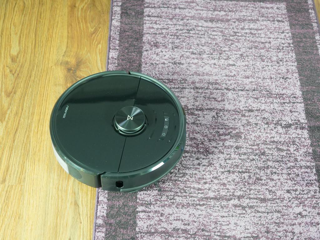 Roborock S6 maxV - recenzja robota sprzątającego z inteligentnym rozpoznawaniem przeszkód - wjazd na dywan