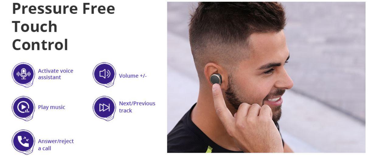 Wakacyjna wyprzedaż Tronsmart - słuchawki Bluetooth Tronsmart Apollo Bold