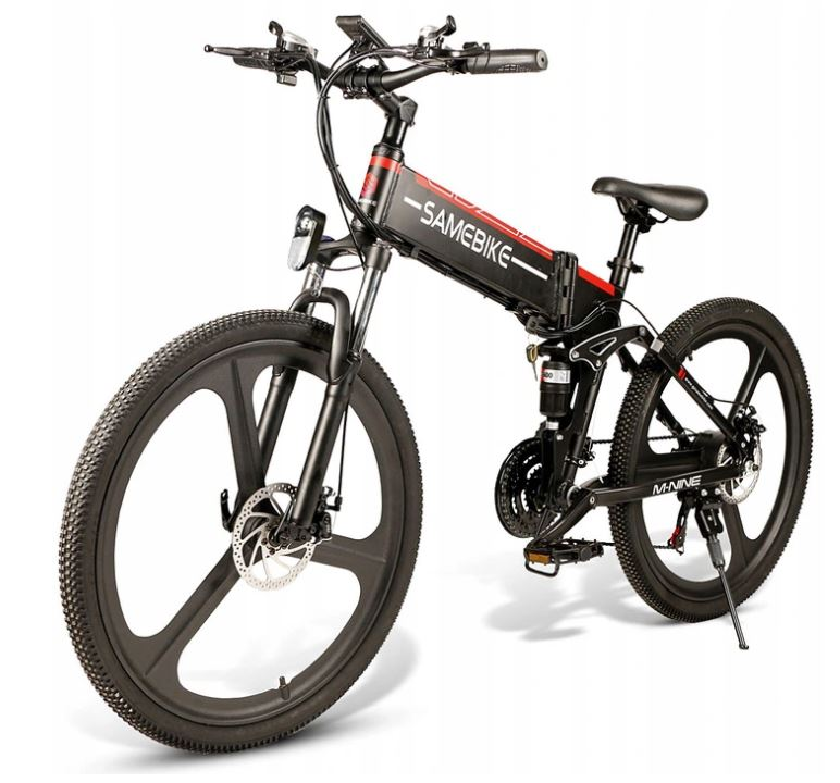 Rower elektryczny Samebike LO26 - elektryczny rower górski