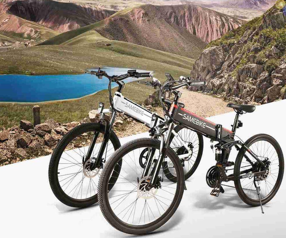 Rower elektryczny Samebike LO26