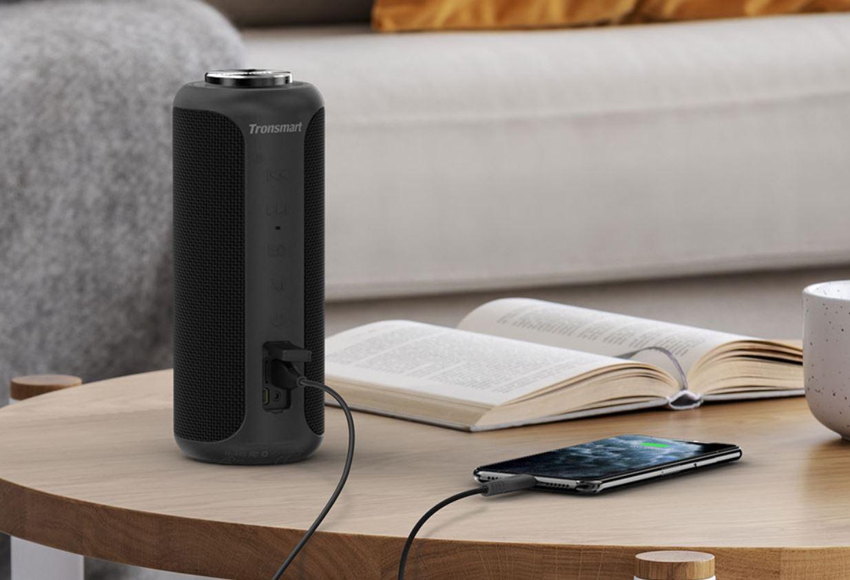 Tronsmart T6 Plus - głośnik Bluetooth - muzyka ze smartfona w głośniku