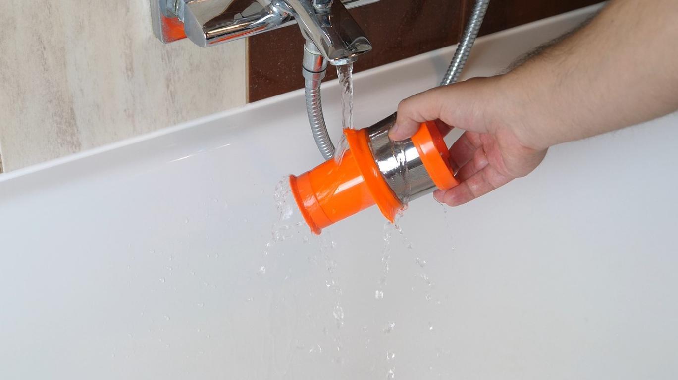 iLife H70 - mycie filtra