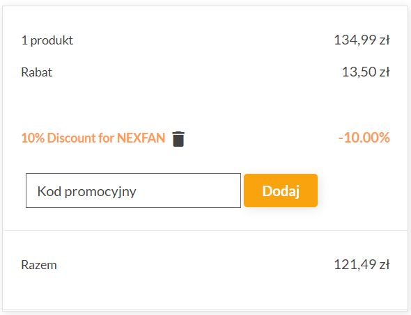 paczka kodów rabatowych na gadżety od geekbuying.pl - miejsce na kod rabatowy