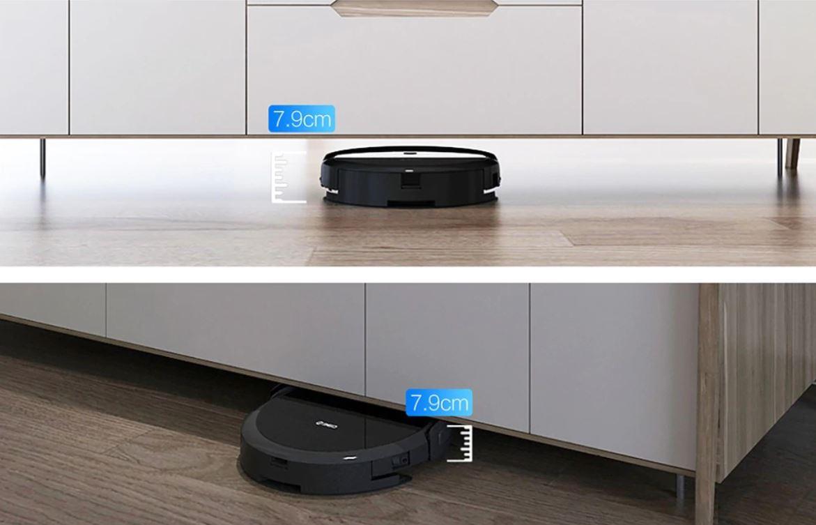 robot sprzątający 360 C50 - wysokość robota