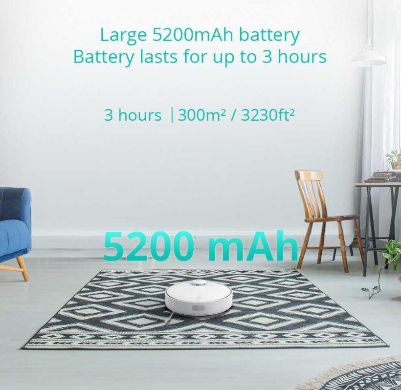 wytrzymała bateria robota 360 S9