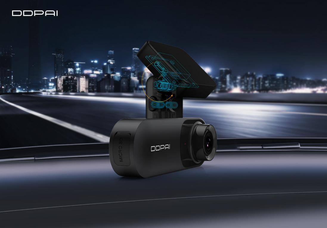 Kamera samochodowa DDPai Mola N3 - uchwyt