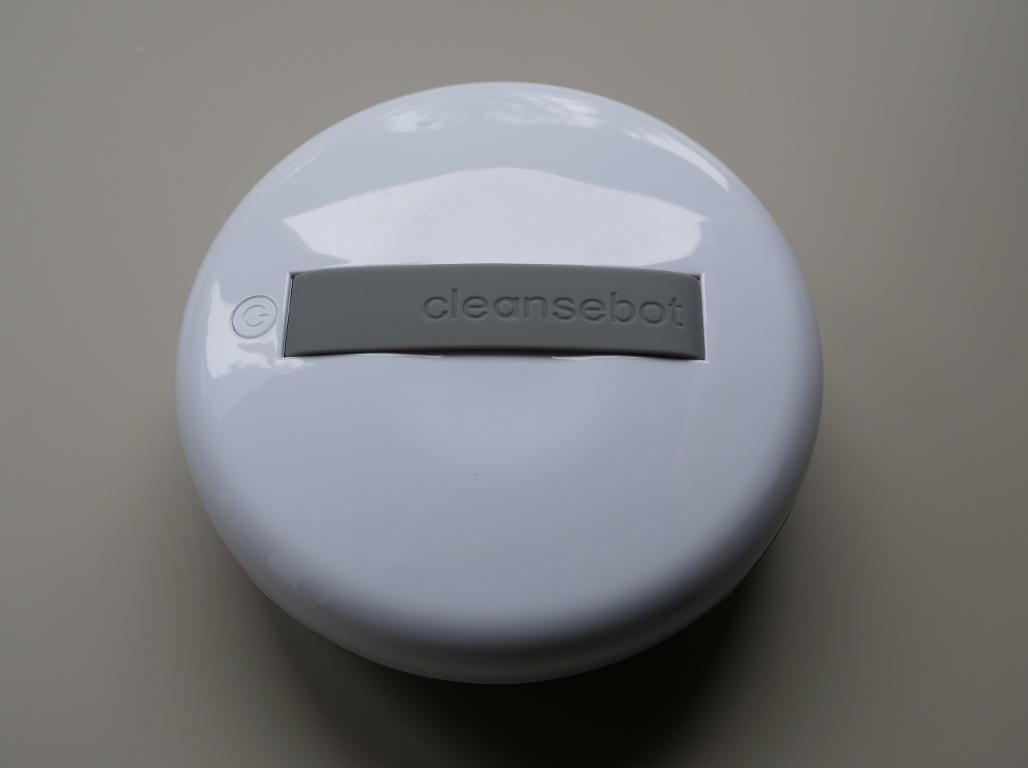CleanseBot - robot bakteriobójczy - rączka