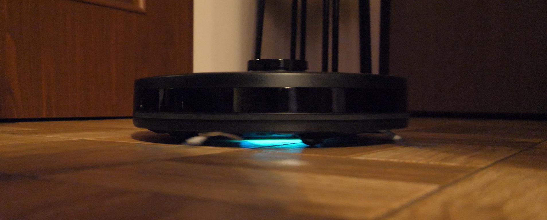 PURON PR10 - recenzja robota sprzątającego z lampą UV - światło UV-C do sterylizacji