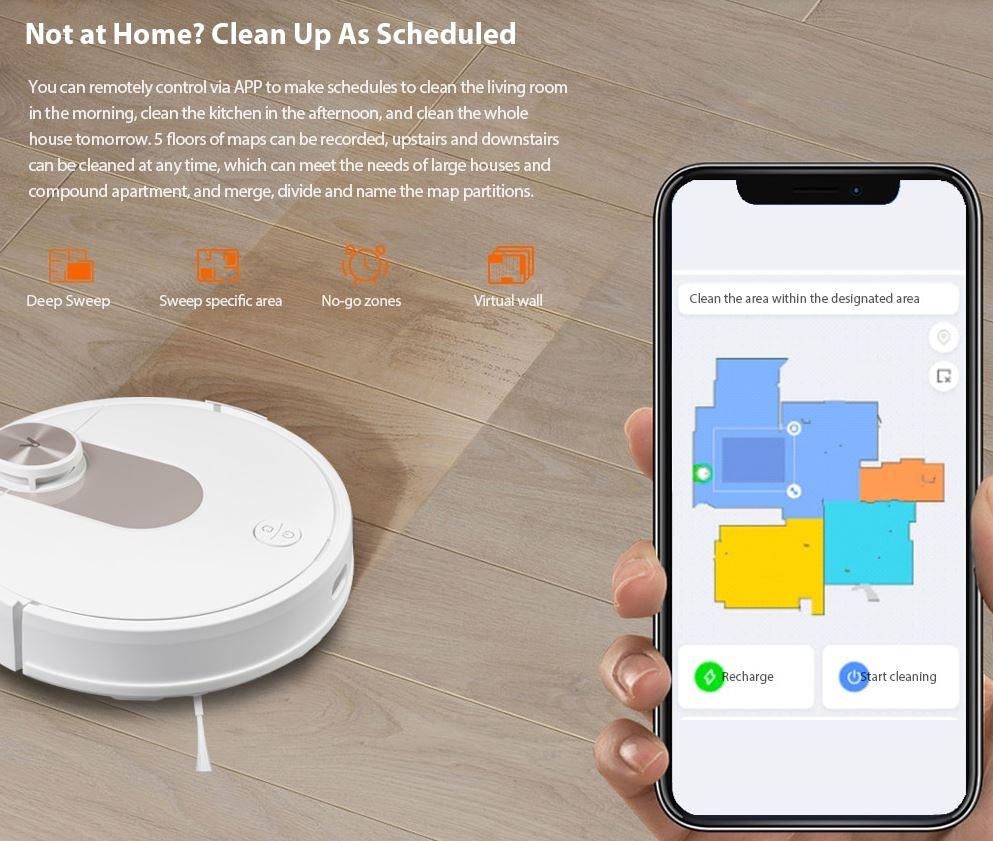 Premiera robota sprzątającego Viomi SE - obsługa przez aplikację Xiaomi Home