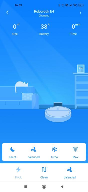 widok w aplikacji Xiaomi Home