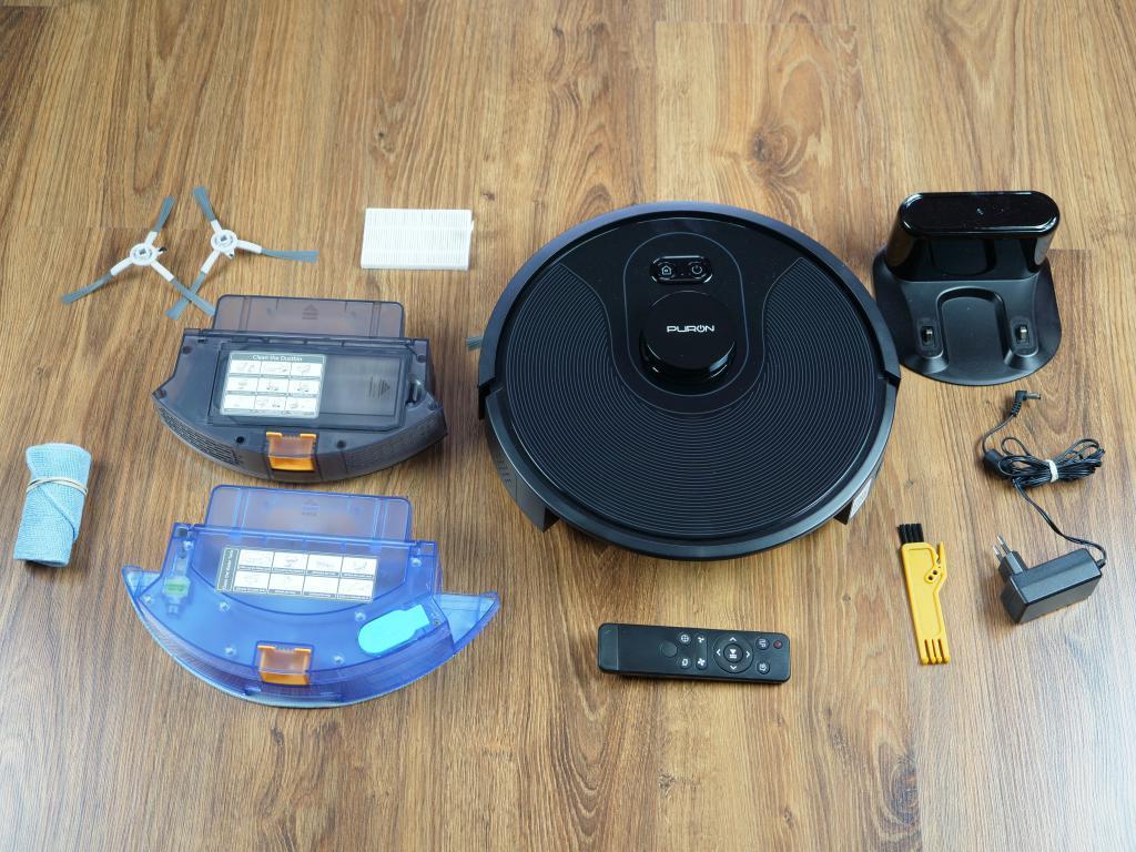 PURON PR10 - recenzja robota sprzątającego z lampą UV - zestaw