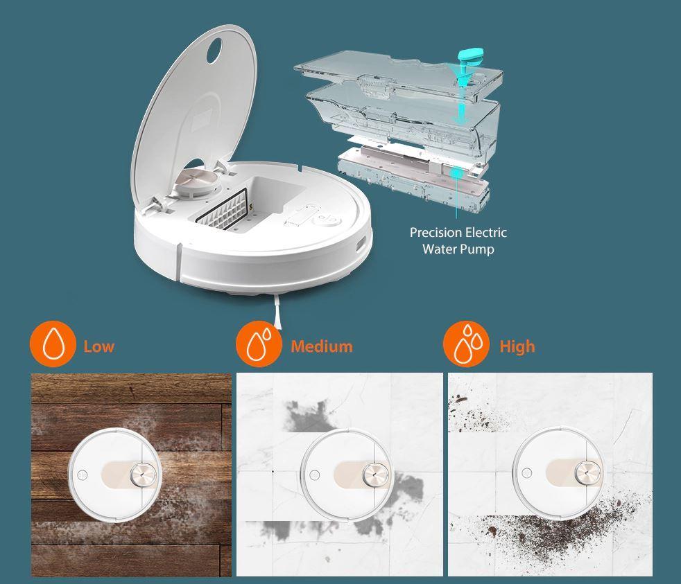 Premiera robota sprzątającego Viomi SE - mopowanie