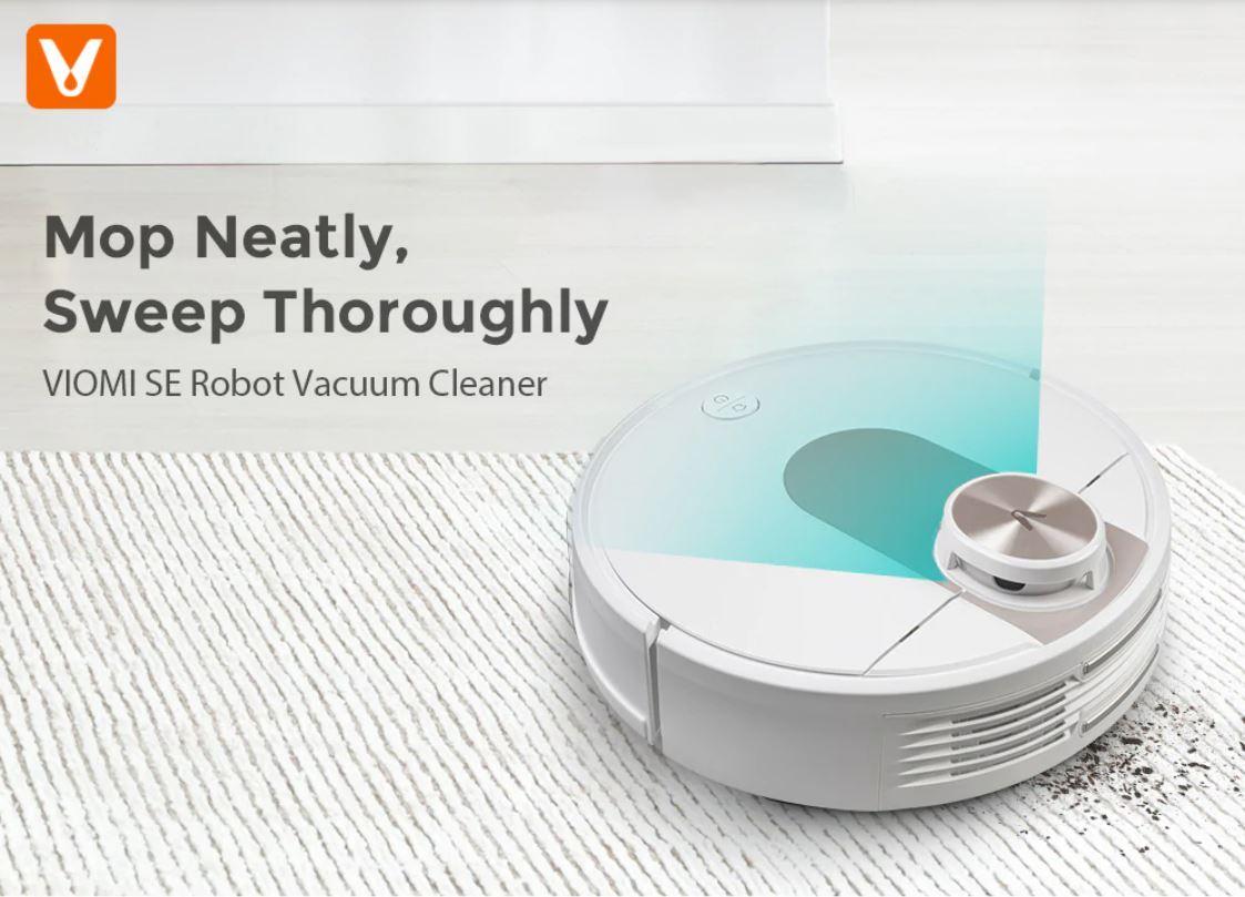 Premiera robota sprzątającego Viomi SE