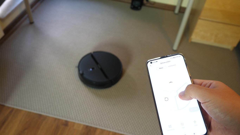 sterowanie telefonem przez aplikację Xiaomi Home