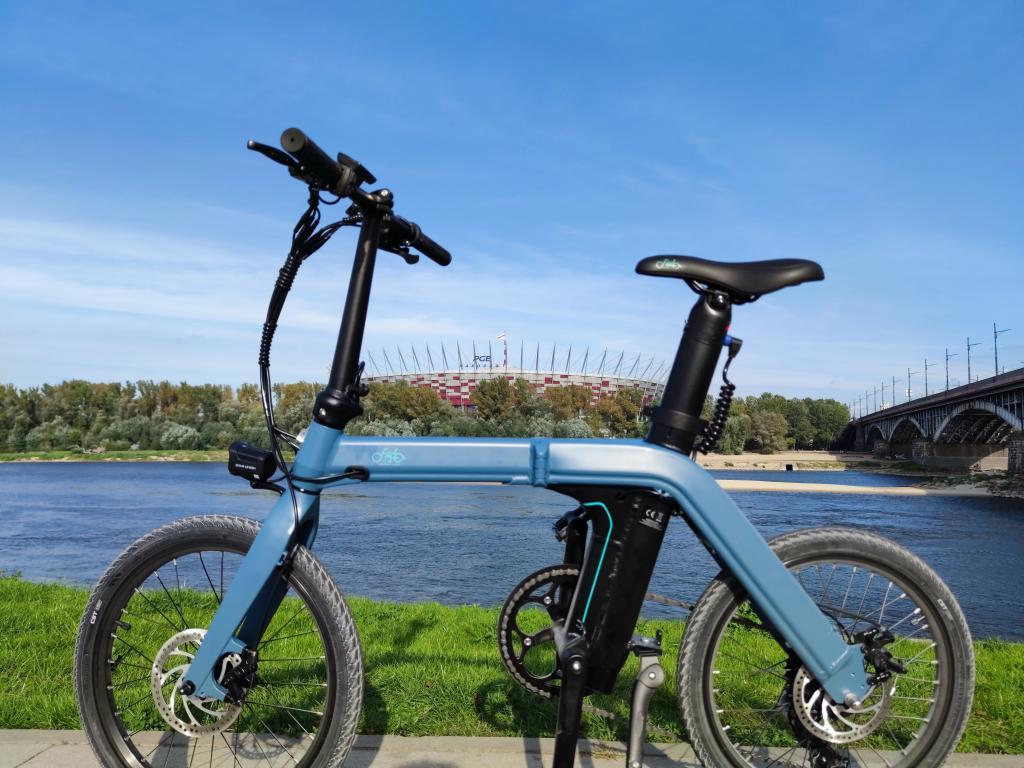 Fiido D11 - recenzja roweru elektrycznego o ogromnym zasięgu - rower nad Wisłą