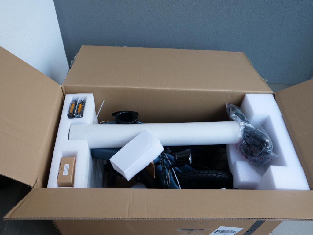 Fiido D11 - recenzja roweru elektrycznego o ogromnym zasięgu - unboxing