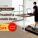 Pracuj z domu sprytniej i zdrowiej - bieżnia i elektrycznie regulowane biurko