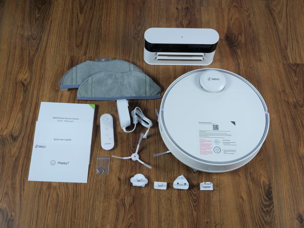 360 S9 - recenzja robota sprzątającego - unboxing