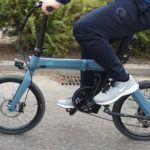 Fiido D11 - rower w trakcie jazdy