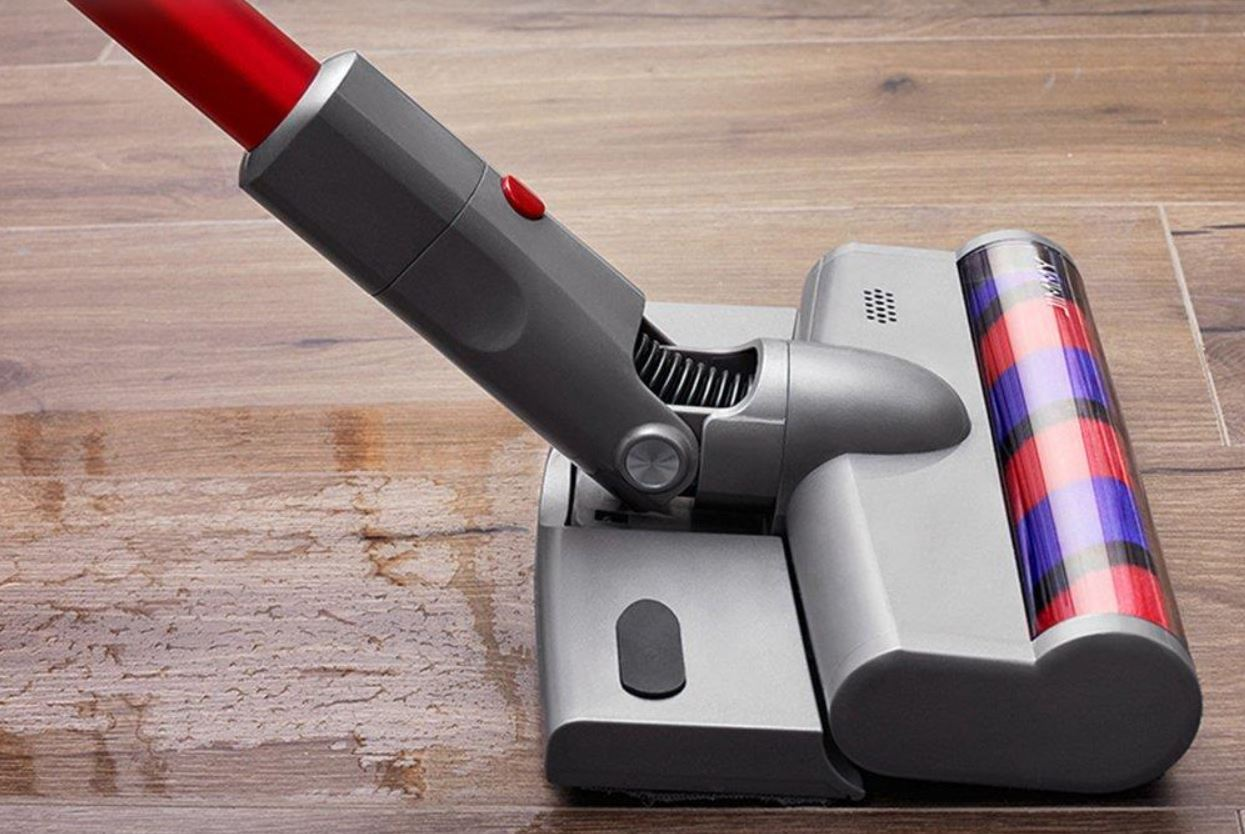 Jimmy JV65 Plus - premiera odkurzacza ręcznego z funkcją mopowania - mopowanie