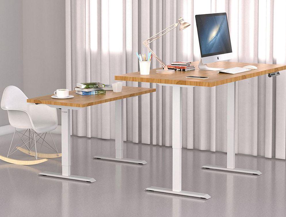 Stwórz idealne domowe biuro - jak ułatwić sobie pracę z domu - wyprzedaż - biurka do pracy na stojąco