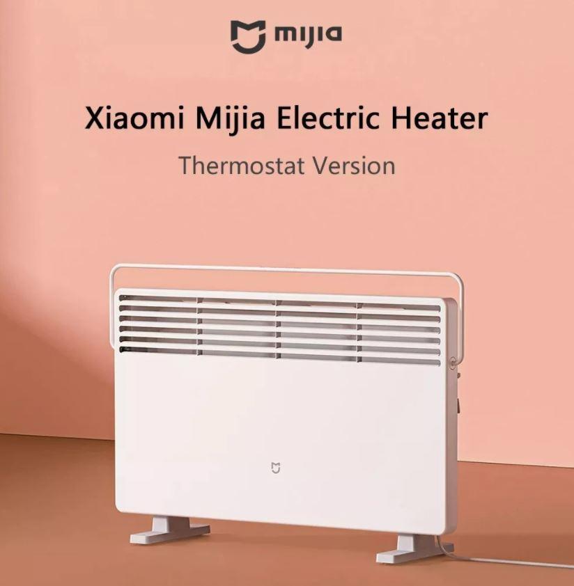 Stwórz idealne domowe biuro - jak ułatwić sobie pracę z domu - wyprzedaż grzejnika Xiaomi Mijia Electric Heater