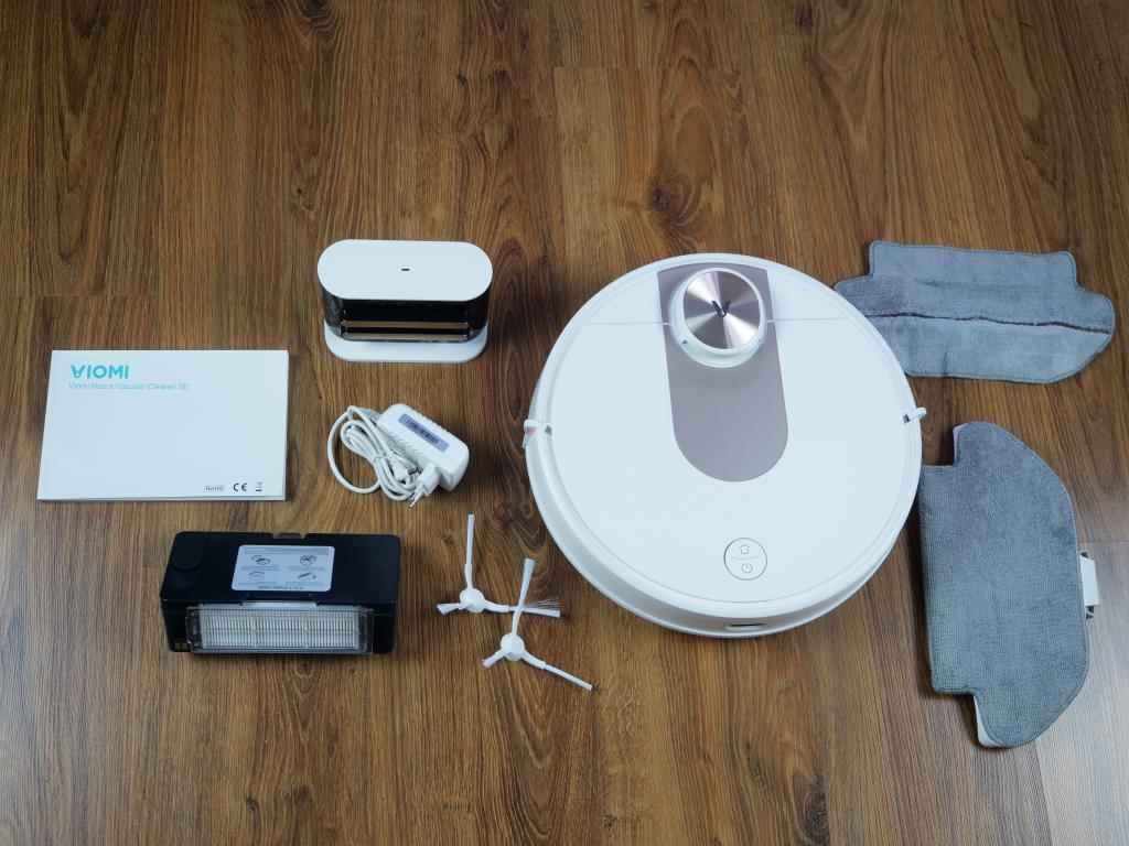 Viomi SE - recenzja robota sprzątającego w super cenie - zawartość zestawu