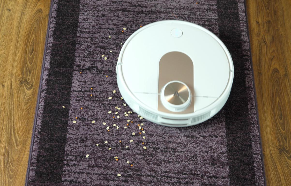 odkurzanie dywanów robotem odkurzającym Viomi SE