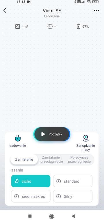 widok w aplikacji Xiaomi Home - Viomi SE