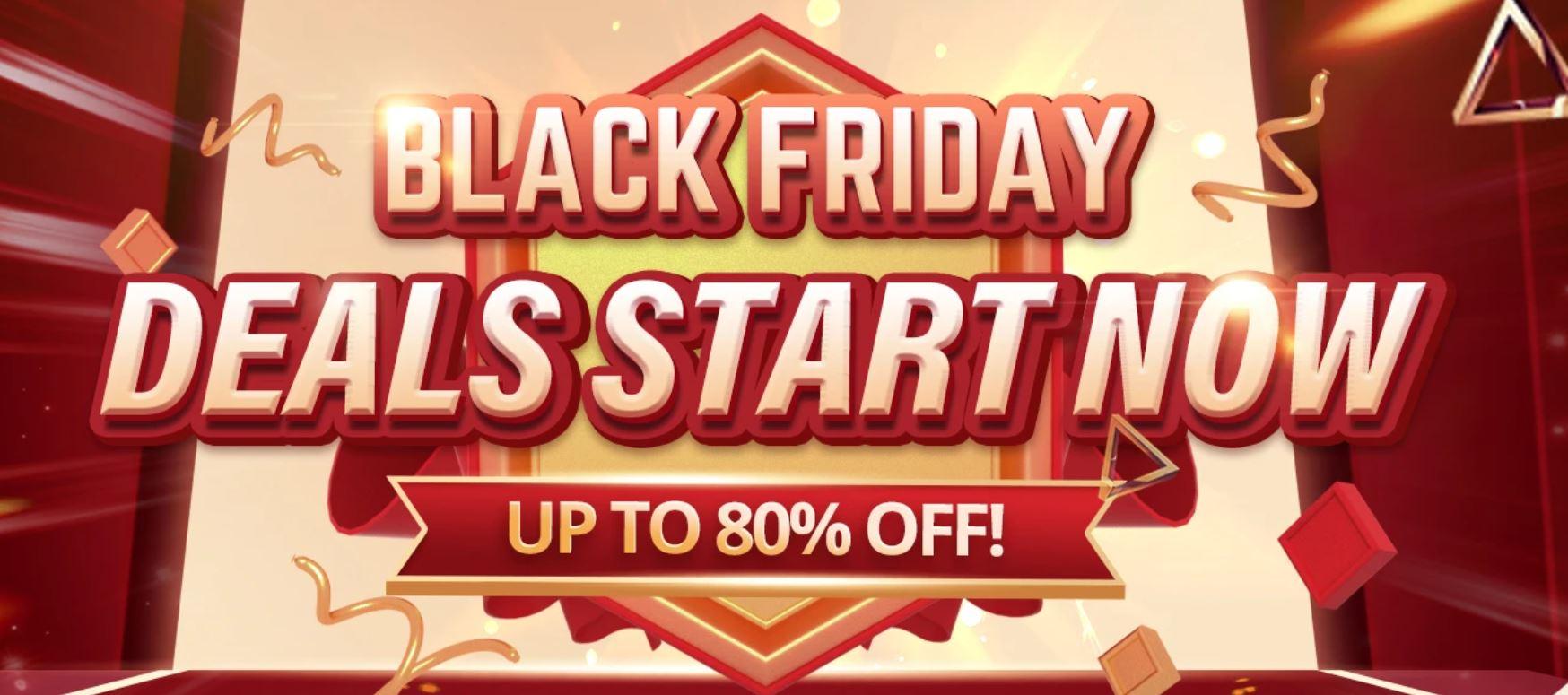Black Friday 2020 na geekbuying.com - start promocji