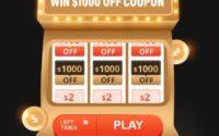 Black Friday na geekbuying.com - loteria