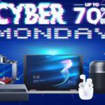 Cyber Monday na geekbuying