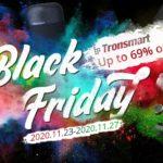 Przecena słuchawek i głośników Tronsmart na Black Friday