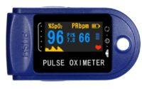 Pulsoksymetr z Aliexpress - wyświetlacz