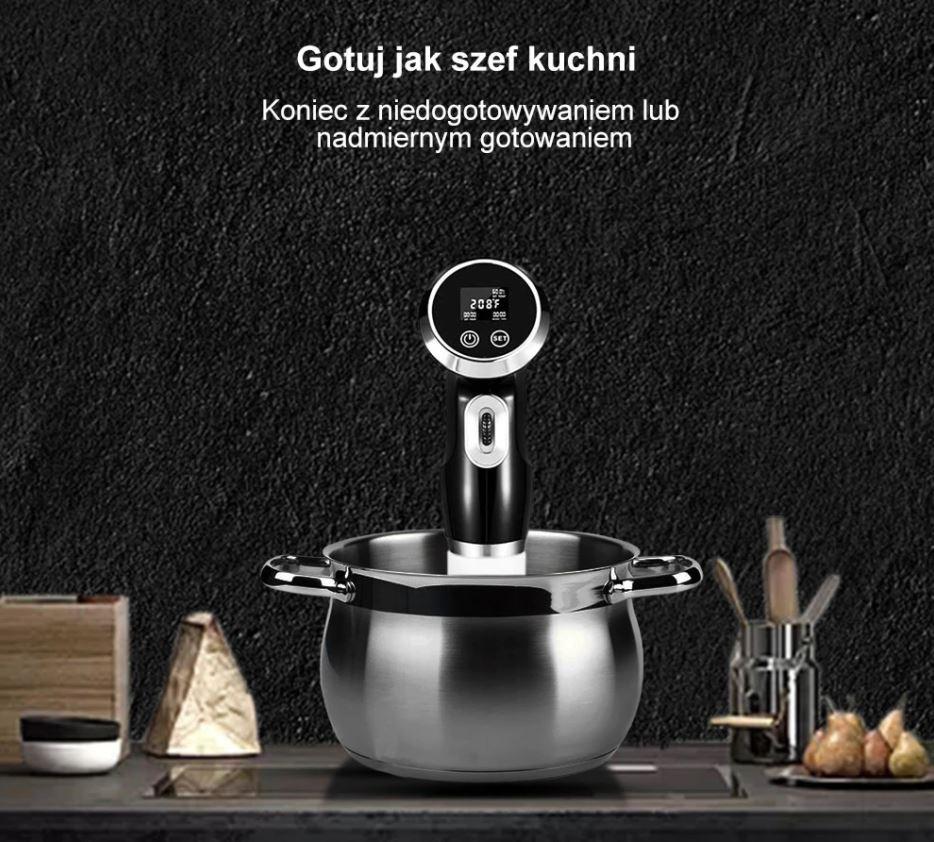 Sprzęty kuchenne BioloMix z Aliexpress - Cyrkulator do gotowania Sous-Vide BioloMix