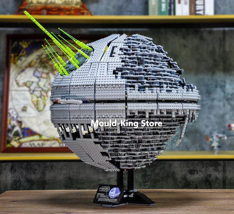 Zakupy bez kolejek - promocja Aliexpress na Black Friday - gwiazda śmierci LEGO Star Wars