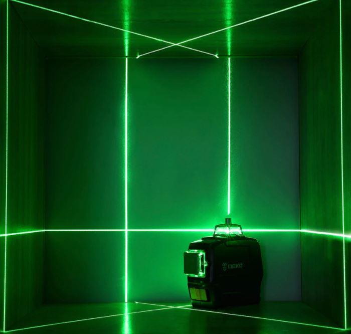 pomysł na prezent świąteczny z Aliexpress - poziomica laserowa DEKO