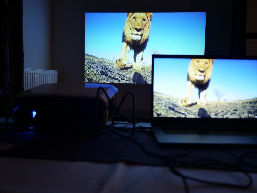Blitzwolf BW-VP6 - recenzja projektora Full HD w super cenie - jakość obrazu