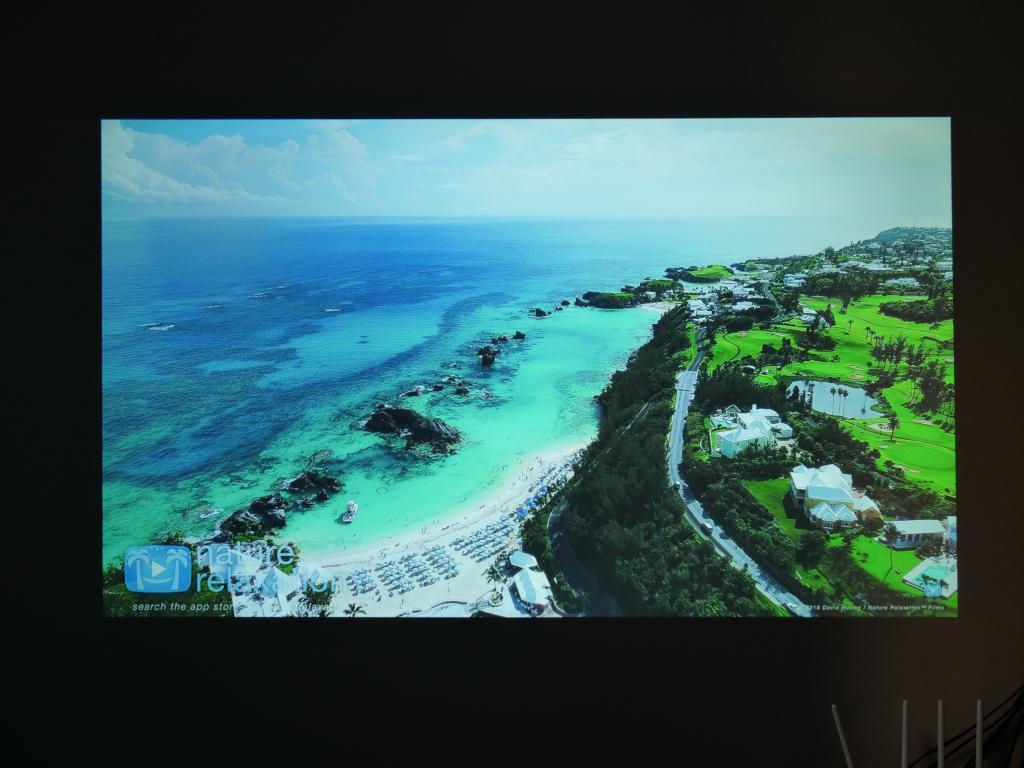 Blitzwolf BW-VP6 - recenzja projektora Full HD w super cenie - obraz w dzień