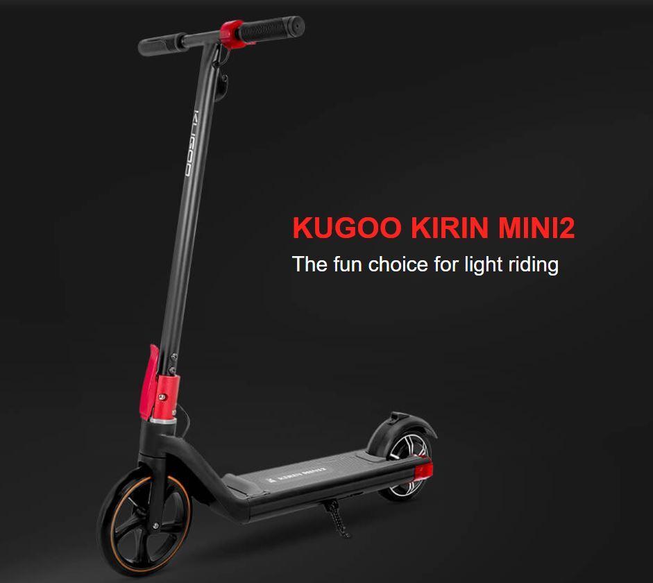 Kugoo Kirin Mini2 - promocja młodzieżowej hulajnogi elektrycznej