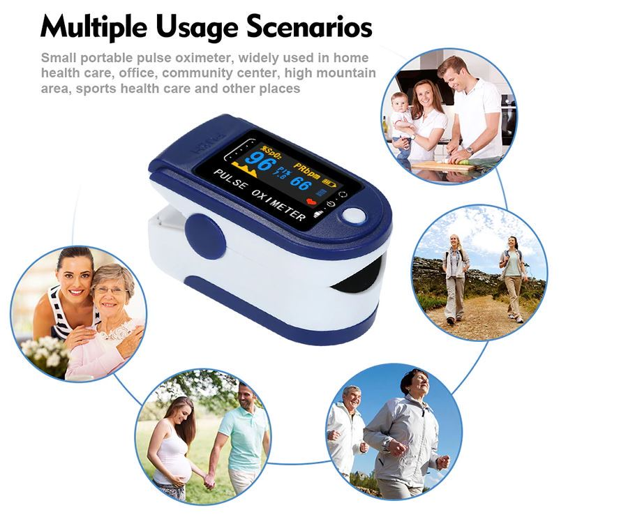 Pulsoksymetr z Aliexpress - różne zastosowania urządzenia do mierzenia poziomu saturacji krwi tlenem
