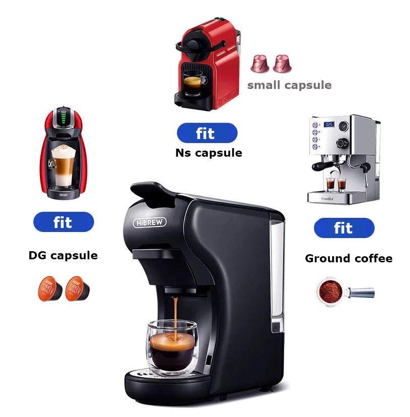 promocja Aliexpress 11.11 - ekspress ciśnieniowy HiBREW - do różnej kawy