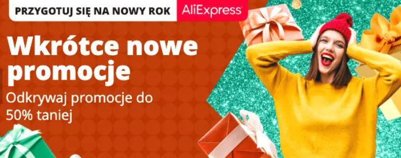 grudniowa promocja Aliexpress