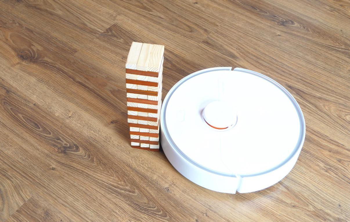 Roborock S6 Pure - recenzja robota sprzątającego - omijanie przeszkód